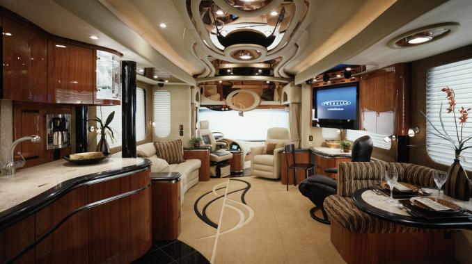 Newell Coach Luxury Motor Coach