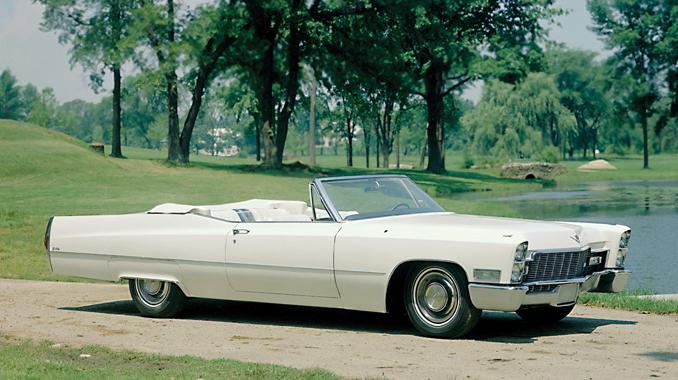 1966-70 Cadillac DeVille Convertible overview, photos, and videos.