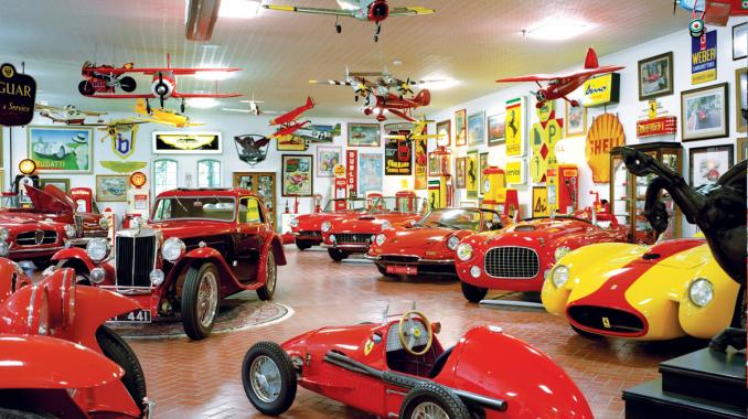 Vintage Car Collection Classic European Car Collection Gene Ponder