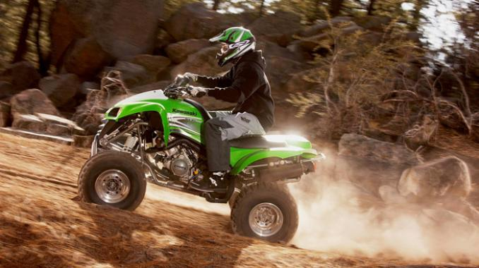2010 Kawasaki KFX700 and 700R. Overview, photos, videos and specs.
