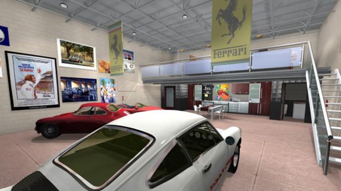 car condos large garage real estate car property homes with large garages. Black Bedroom Furniture Sets. Home Design Ideas