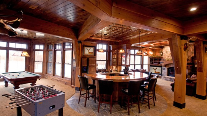 ultimate man cave rustic man cave ideas. Rathskeller Retreat Ultimate Man Cave Rustic Ideas .